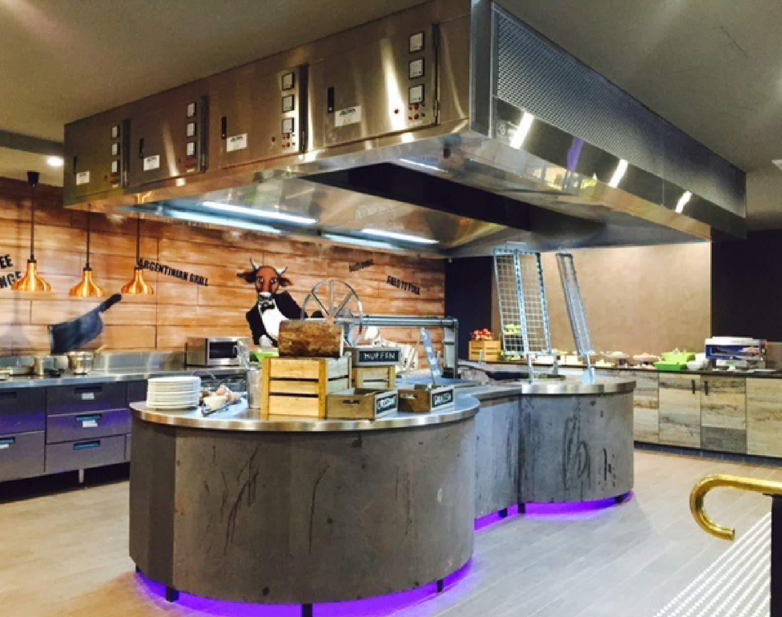 AOM Air and Odor Management Kitchen Hood at La Boca Restaurant