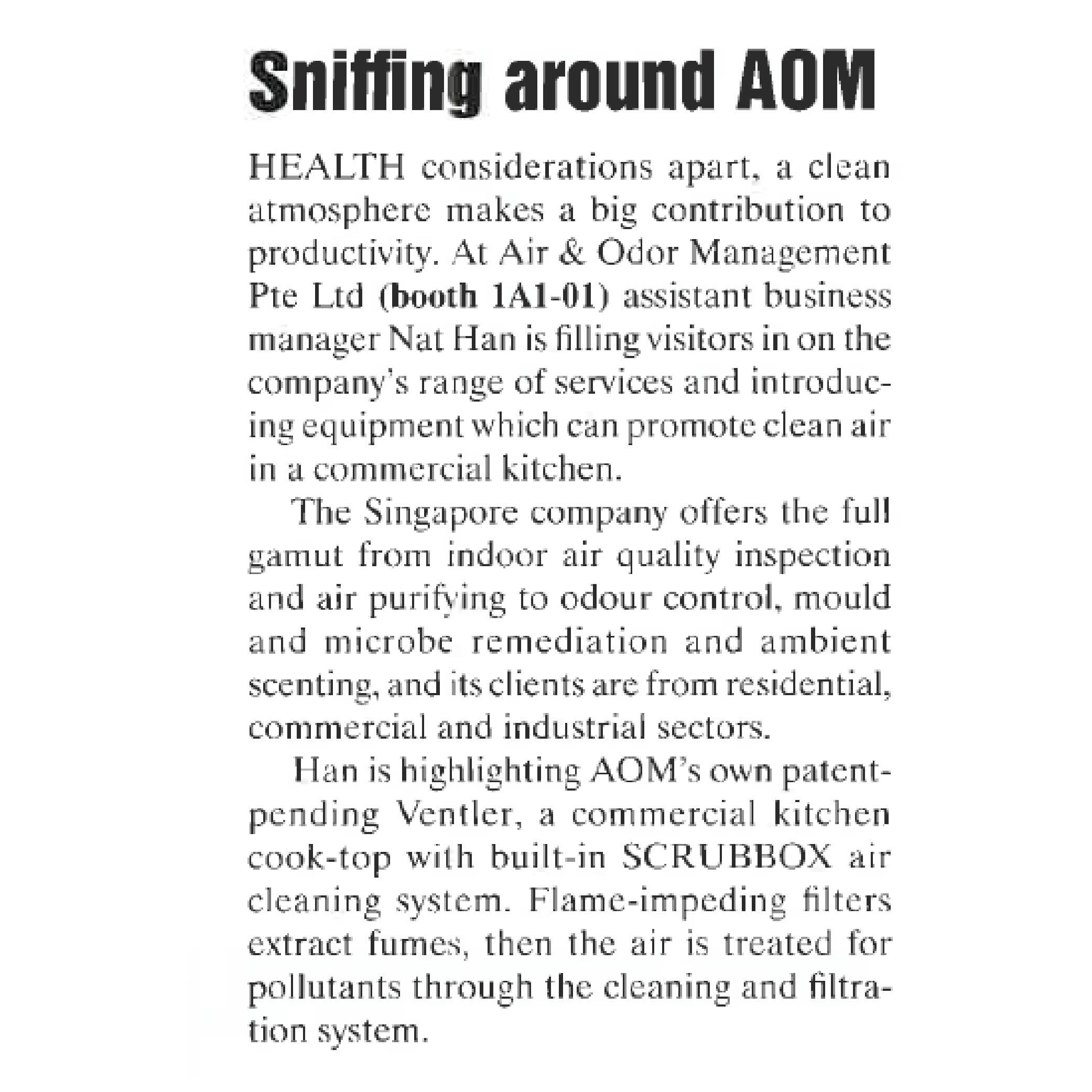 Sniffing AOM-01